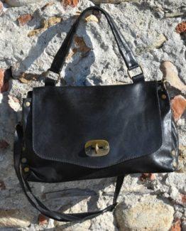Jasmine xs borsa in pelle colore nero, ambiente